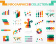 Business and social infographics