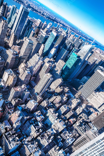 skyscrapers of manhattan, new york