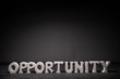 Opportunity text