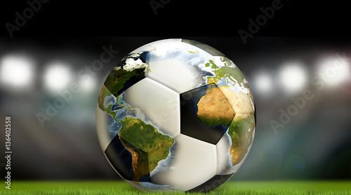 weltweiter-fusballfusball-3d-ubertragen