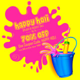 Holi promotional background