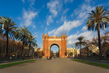 The Arc de Triomf, Barcelona