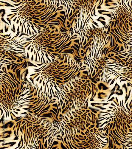 leopard skin  background © kadirgul32