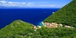 Small picturesque village on island Lastovo in Croatia, Mediterranean landscape - 136433951