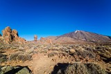 View on el Teide volcano on Tenerife.