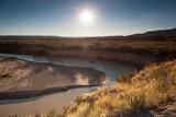 Santa Elena Canyon and Rio Grande river at Big Bend National Park, Texas, USA