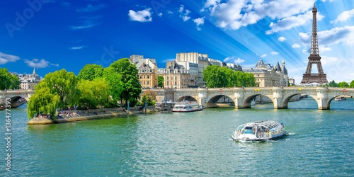 Papiers peints Tour Eiffel Paris, France