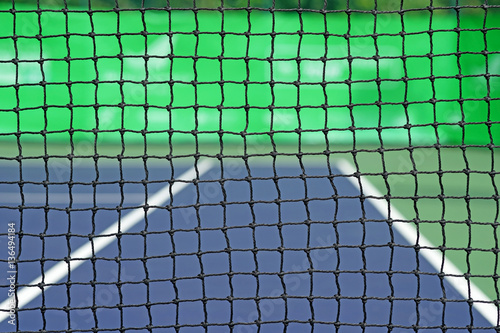 net in tennis court Poster