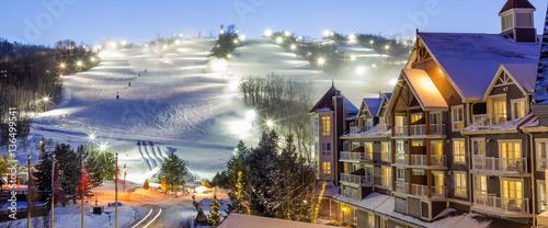 Blue Mountain Village in winter © PhotoSerg