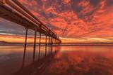 Sunrise sand pumping jetty