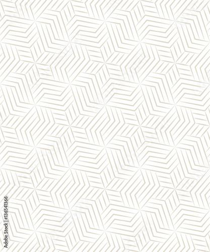 Vector seamless pattern. Modern stylish texture. Monochrome geometrical pattern of rectangular plates - 136541366