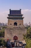 Historisches Wahrzeichen: Glockenturm in der Pekinger Altstadt
