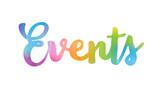 EVENTS icon - 136561522