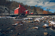 The Snowy Red Mill
