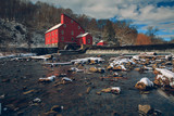 The Snowy Red Mill - 136571959