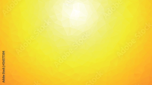 colorful geometric polygonal yellow background