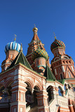 Moscow,Saint Basil's Cathedral.