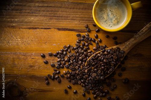 Papiers peints Café en grains ホットコーヒー