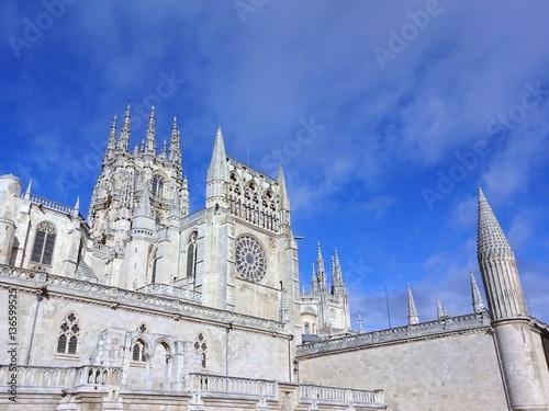 Foto Murales Kathedrale in Burgos
