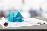 Casa su progetti di architettura e costruzione  - 136604754