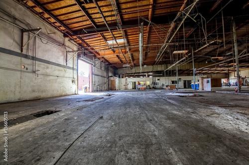 Foto op Aluminium Oude verlaten gebouwen Old Building