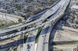 Golden State 5 and Hollywood 170 Freeway Interchange Aerial