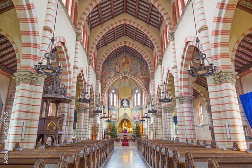 VIENNA, AUSTRIA - DECEMBER 19, 2016: The church Brigitta Kirche. © Renáta Sedmáková