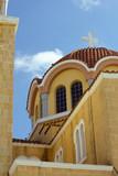 Byzantine church in cyprus island