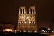 Notre Dame de Paris at Night