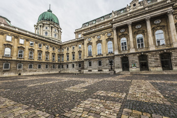 People visit Buda Castle in Budapest. It is the largest city in Hungary and 9th largest in the EU