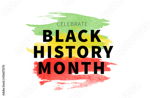 Poster Black History Month