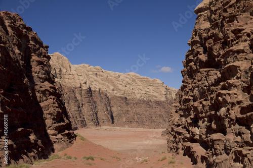 Poster Désert de Wadi Rum / Jordanie / Site classé Unesco