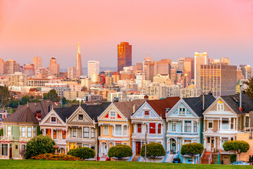 The Painted Ladies of San Francisco, California © Luciano Mortula-LGM