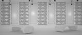 White gallery blank