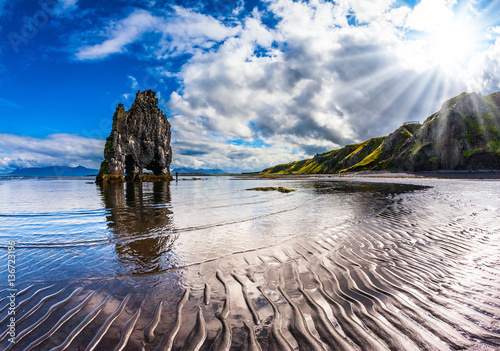 Basalt rock - Mammot Hvitsercur