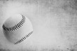 Black and white grunge baseball background.