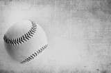 Black and white grunge baseball background. - 136728504