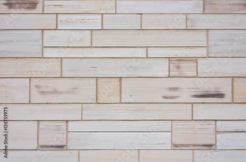 In de dag Stenen Sandstone Block Wall