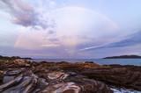 Rainbow of island