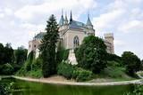 old castle in Bojnice, Slovakia, Europe