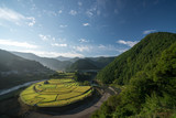 Aragishima rice terraced field,Wakayama,Japan