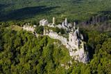 Gymes, slovakia mediaval castle, ruins of Gymes castle near Nitra - 136791719