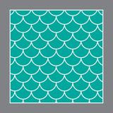 Fish Pattern  Fish   Texture Wall Sticker