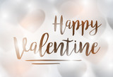 Valentines day background with hearth background. Vector valentine illustration. Wallpaper, posters, flyers, invitation,  brochure - 136793738