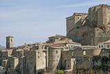Sorano in der Toskana