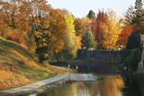 Park of Bojnice castle. Slovakia