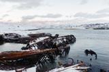 Abandoned naval ships