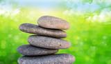 piedras con fondo de naturaleza