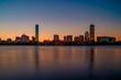 Long Exposure of the Boston Skyline