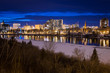 Downtown Saskatoon at Night